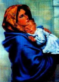 Дева Мария с Младенцем на руках
