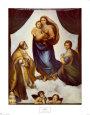 Дева Мария с Младенцем, а рядом святые